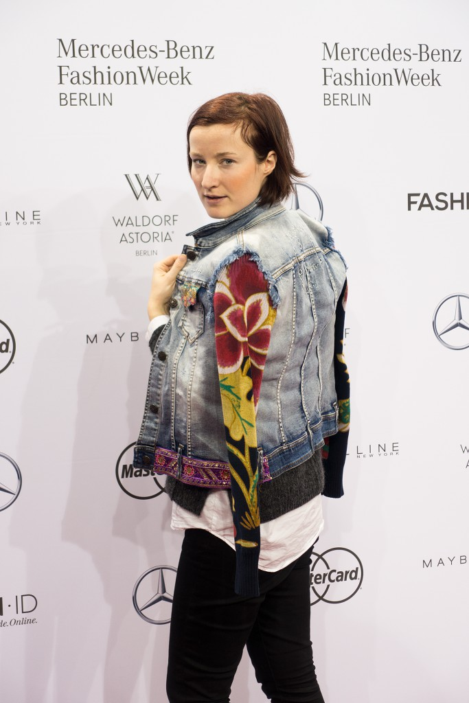 Mit Desigual auf der Mercedes Benz Fashion Week AW 2016/17 (Credit: Fashion-Meets-Media.com)