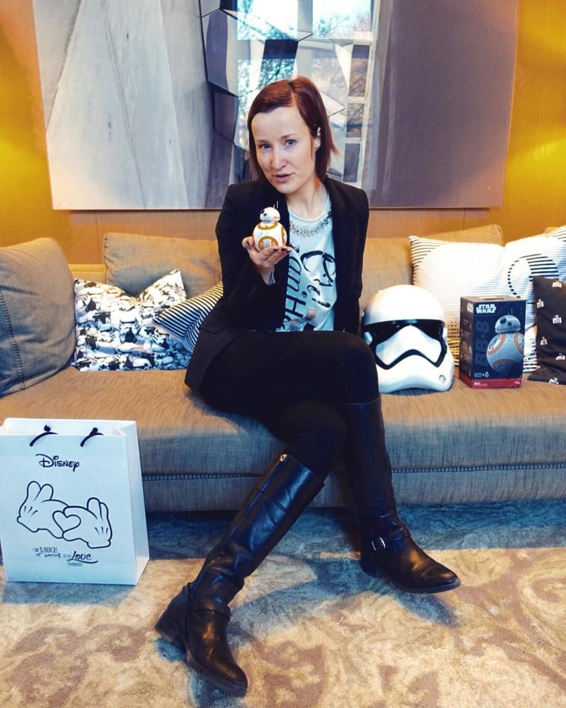 Mein neuer Liebling: der Star Wars Droide BB-8 von Sphero (Credit: Fashion-Metes-Media.com)