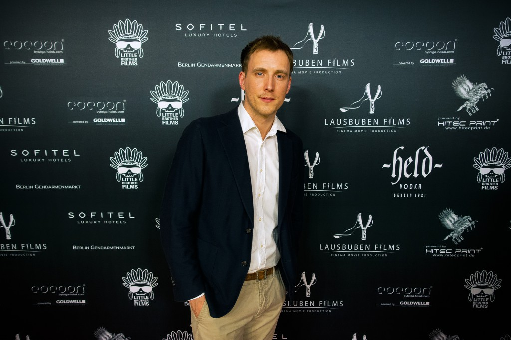 Sebastian auf der LB Film Party 2015