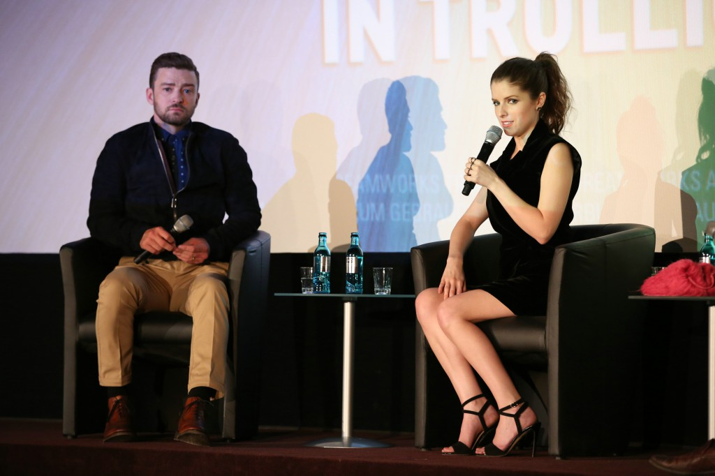 Justin Timberlake und Anna Kendrick (Credit:TM and © 2011 Twentieth Century Fox Film Corporation, All rights reserved / TM und © 2011 Twentieth Century Fox. Alle Rechte vorbehalten)