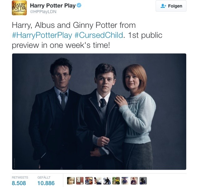 Harry Potter Play (Credit: Twitter/Harry Potter Play)