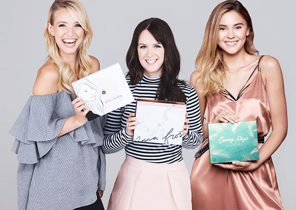 Glossybox - Leonie Hanne - Anna Frost - Stefanie Giesinger (Credit: GlossyBox)