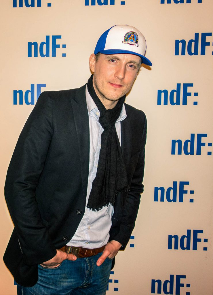 Sebastian Achilles der 'ndf AfterWork Party' (credit: fashion-meets-media)