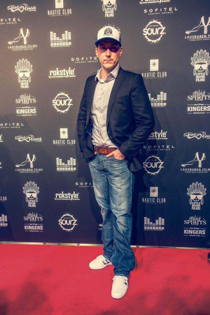 Sebastian auf dem Berlinale Empfang von 'Lausbuben Films' (credit: fashion-meets-media) CARPASUS