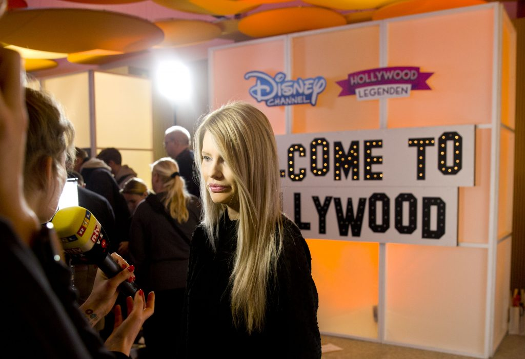 "BERLIN GERMANY, 28.01.2017, Astor Lounge, Disney Channel ""Hollywood Legenden"" Screening Mirja du Mont photo: Disney / Hanna Boussouar"