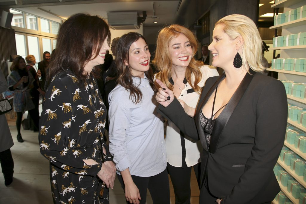 iris Berben, Aylin Tezel, Palina Rojinski, Anika Decker Tiffany & Co., Lili Radu und Anika_Decker Berlinale Event - The Store x Soho House Berlin am 16.02.2017 Agency People Image (c.) Marko Greitschus